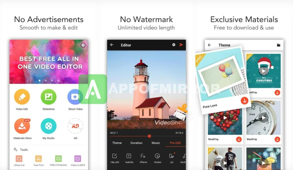 VideoShow MOD APK 9.4.4rc (Pro/Without Watermark/Premium) 2021 Download Latest Free