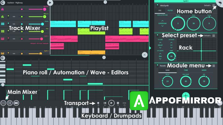 FL Studio Mobile MOD APK + OBB 3.5.16 Download For Android 2021 Free