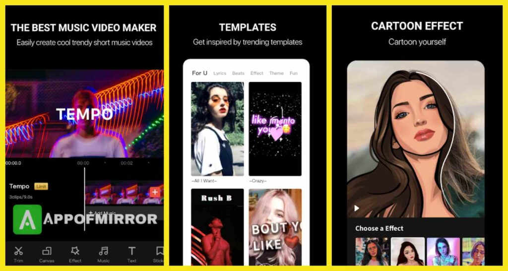 Tempo MOD APK 2.2.7 (Pro/Without Watermark/VIP) Download 2021 Latest Version Free